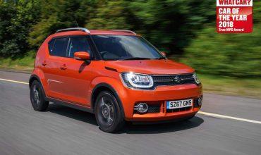 Suzuki Ignis wins What Car? True MPG award 2018
