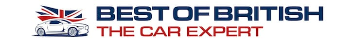 The Car Expert Best of British horizontal banner
