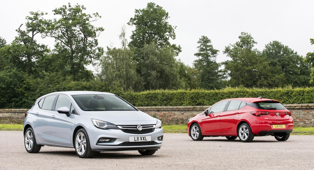 Vauxhall Astra, ten best-selling cars of 2017