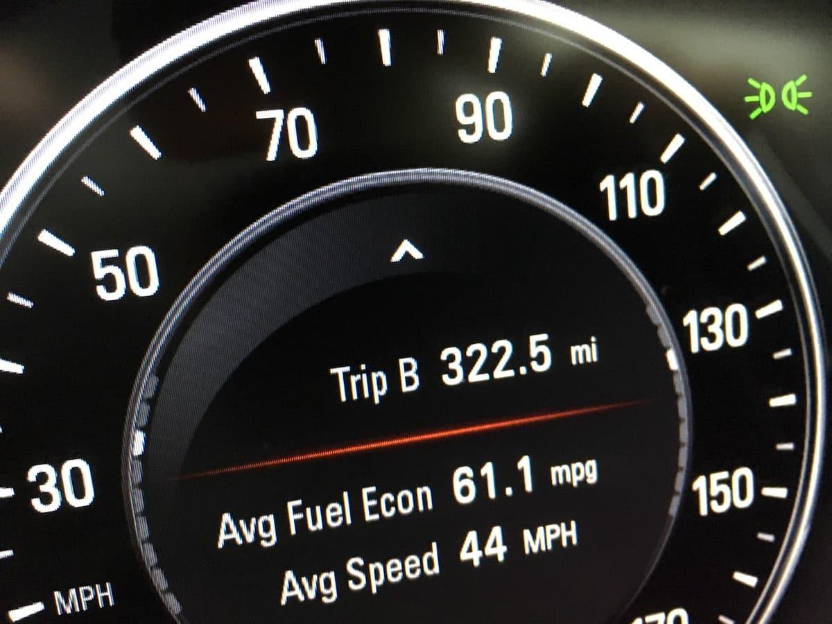 Vauxhall Insignia fuel economy