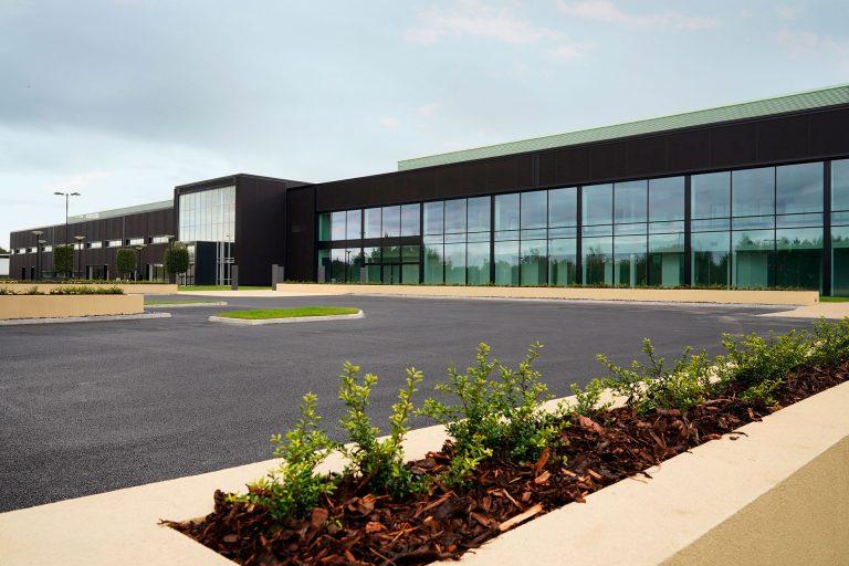 Aston Martin completes phase 1 of new UK plant