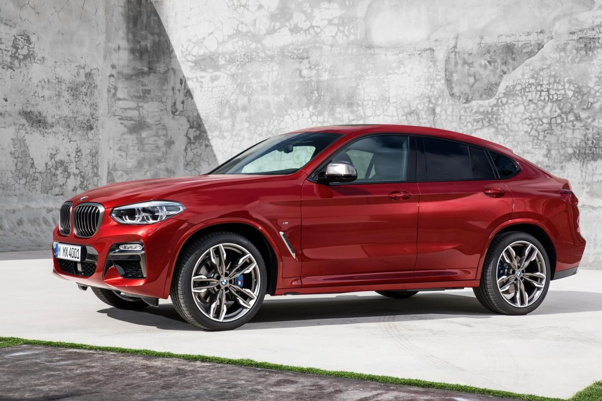 BMW unveils sleeker X4 ahead of Geneva debut