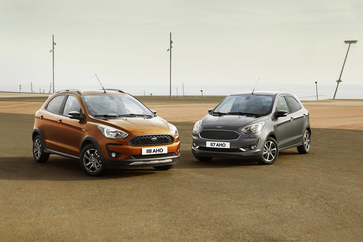 Ford Ka Adds Crossover Styling