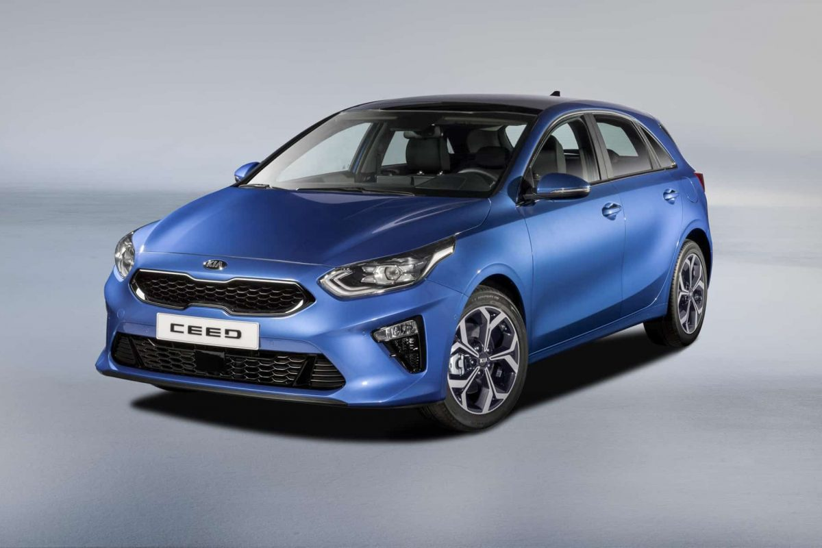 Kia reveals the new 2018 Ceed
