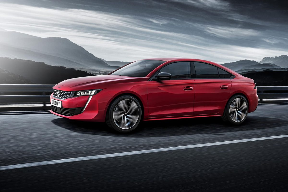 Peugeot reveals all-new 508 family vehicle