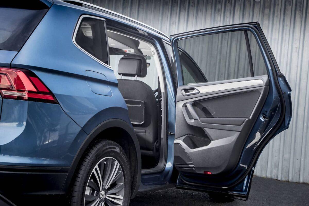 The Volkswagen Tiguan Allspace features seven seats (The Car Expert)