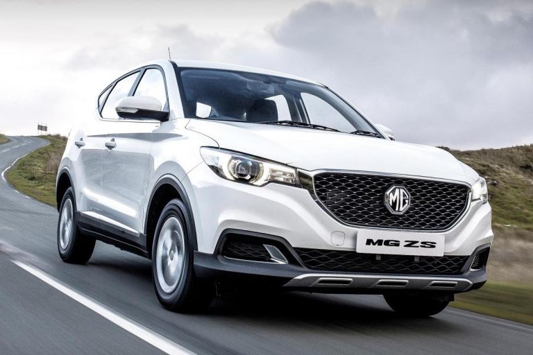 MG offering extended warranty and 0% finance on ZS SUV