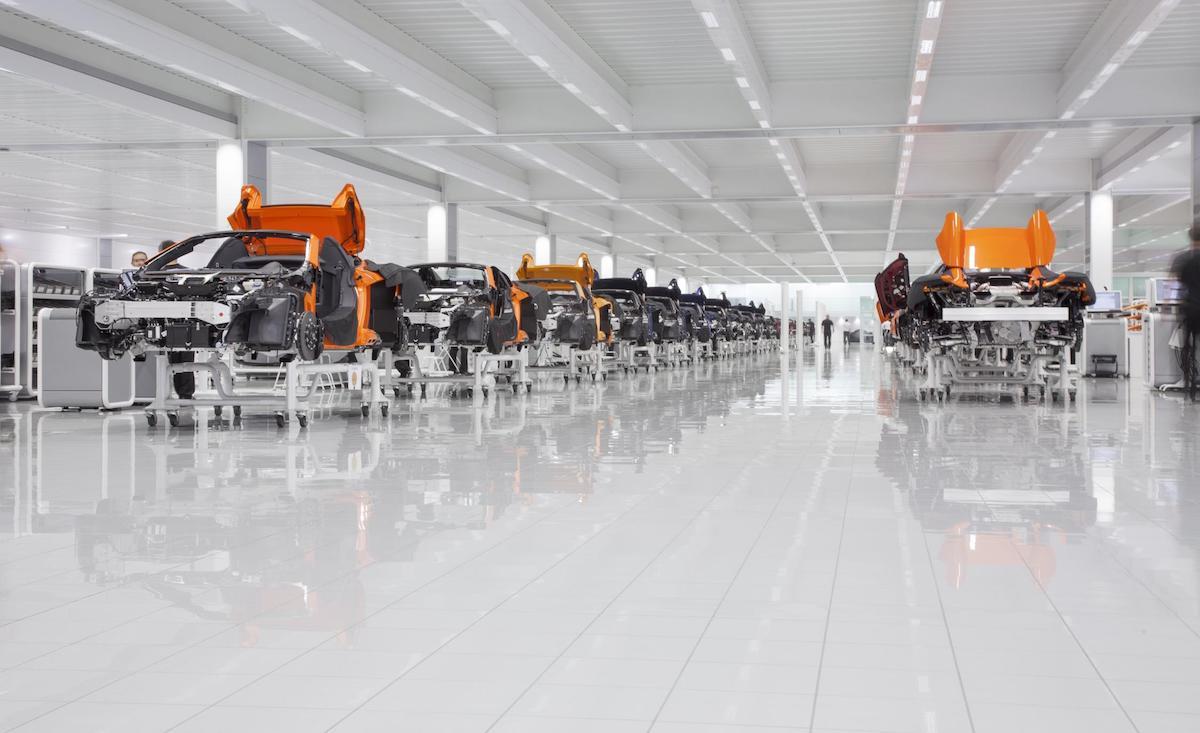 McLaren production centre, Woking
