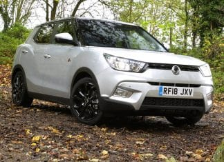 SsangYong Tivoli with a 0% finance offer (The Car Expert)