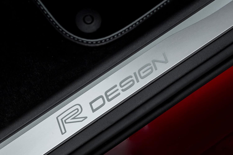 Volvo S90 R-Design door sill graphic