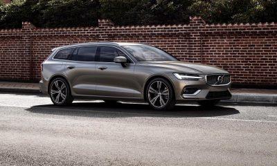 New Volvo V60 unveiled
