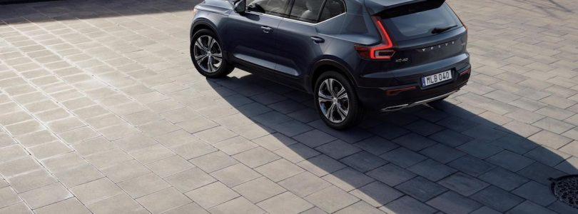 Triple treat for new Volvo XC40