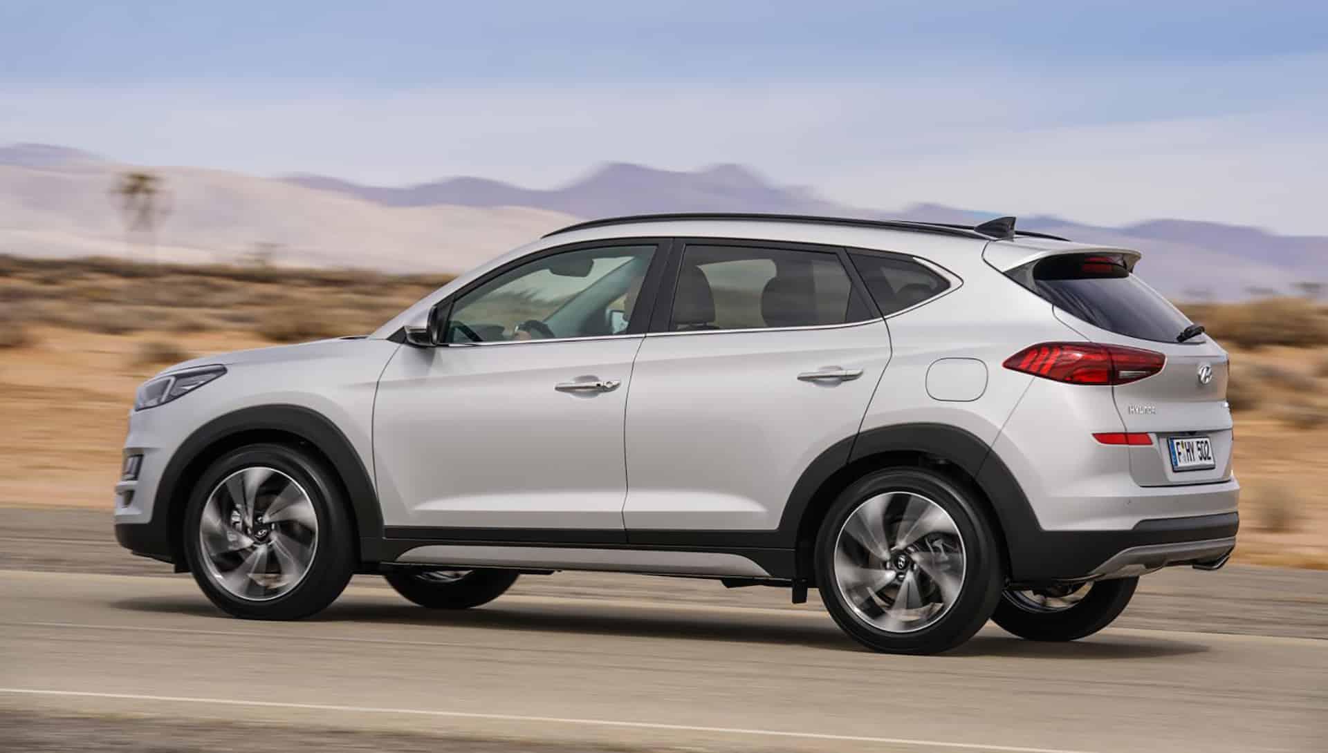 New York reveal for revamped Hyundai Tucson 1