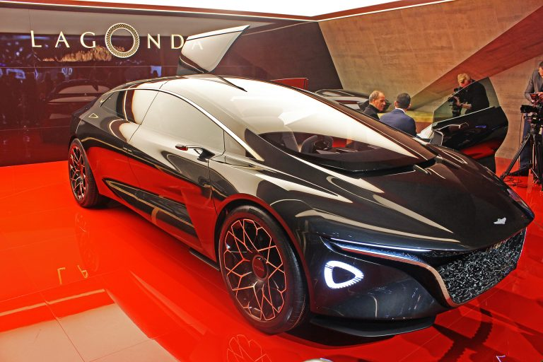 Geneva hosts Aston Martin Lagonda revival