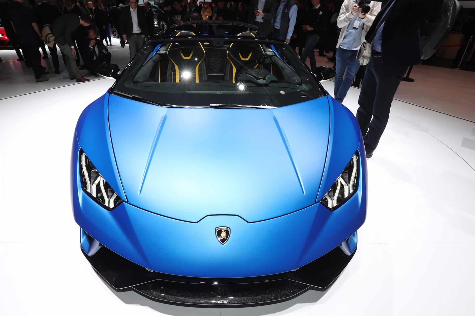 Lamborghini Huracan Performante Spyder The Car Expert Geneva