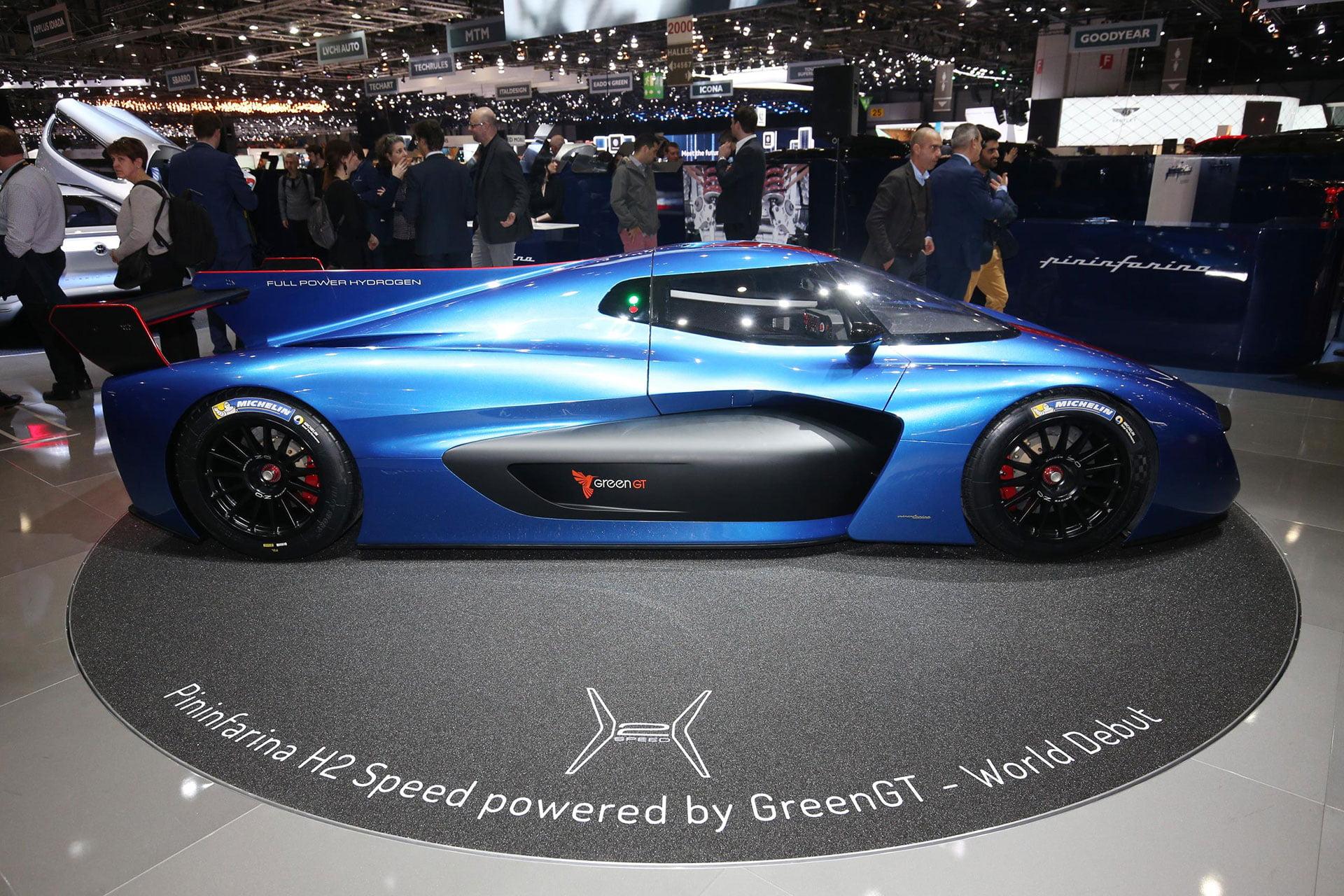 Pininfarina H2 Speed The Car Expert Geneva