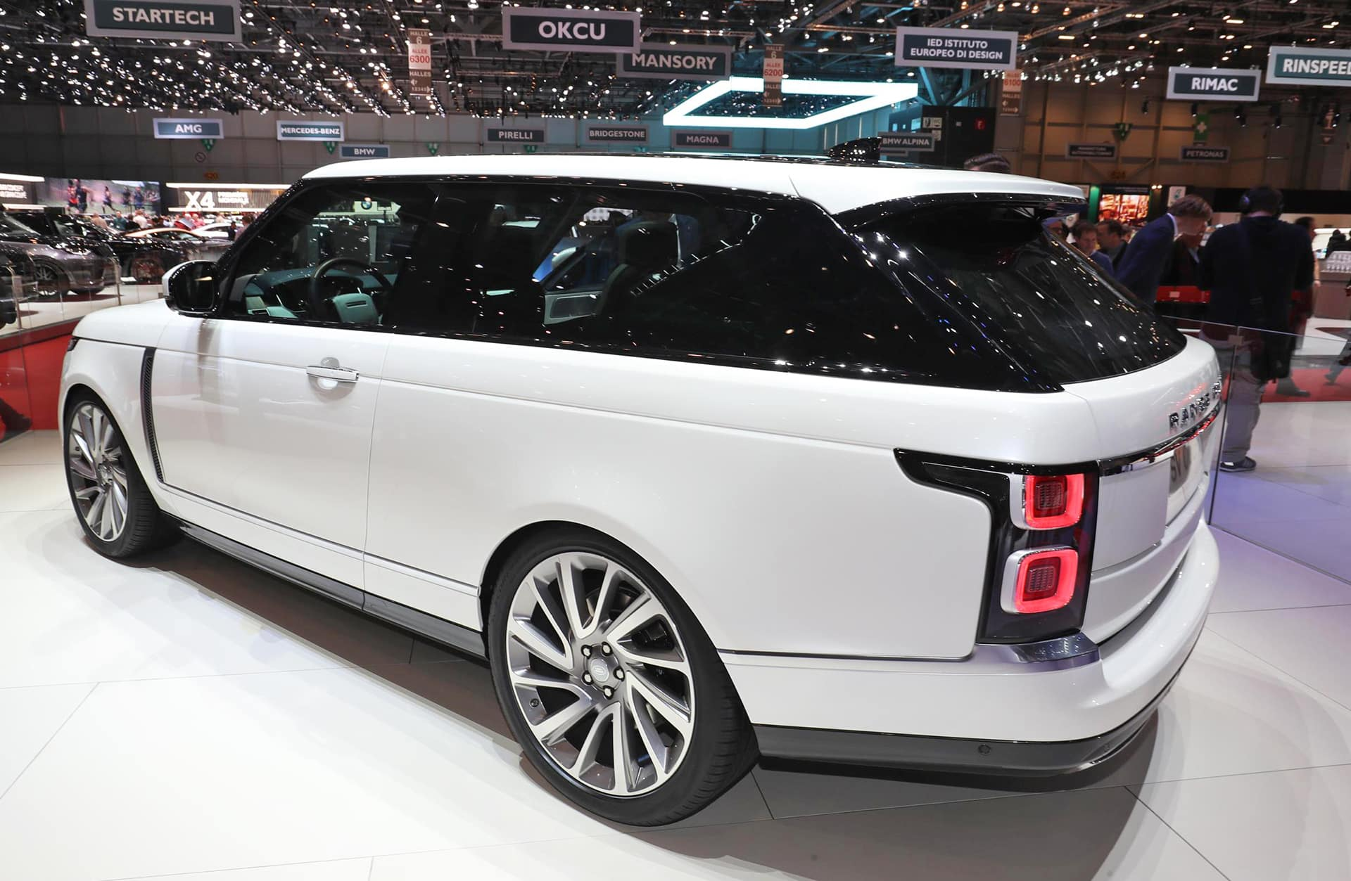 Geneva: Upmarket aim for Range Rover SV Coupe 2