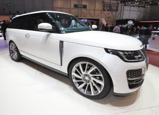 Range Rover SV Coupe The Car Expert Geneva