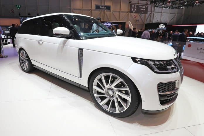 Range Rover SV Coupe The Car Expert Geneva