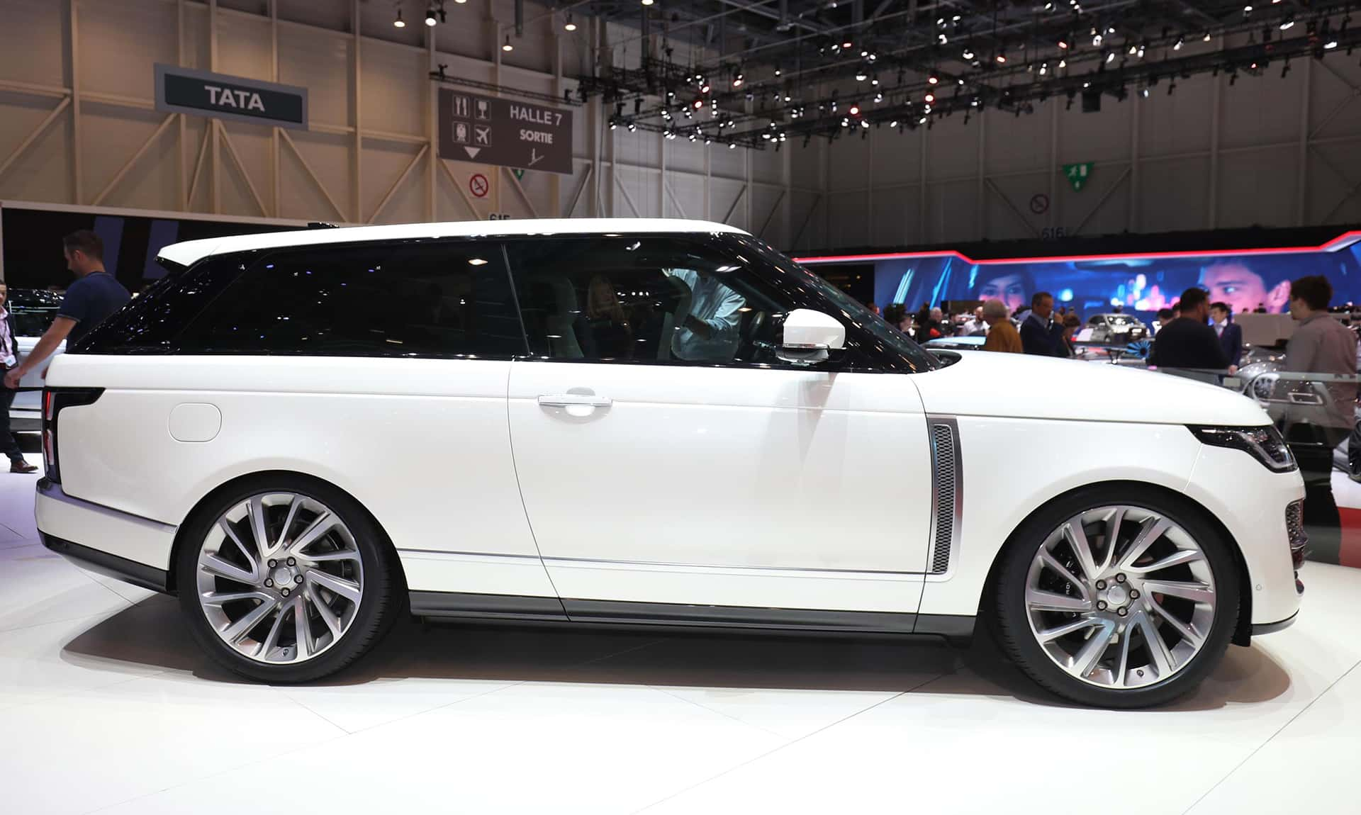 Geneva: Upmarket aim for Range Rover SV Coupe 1