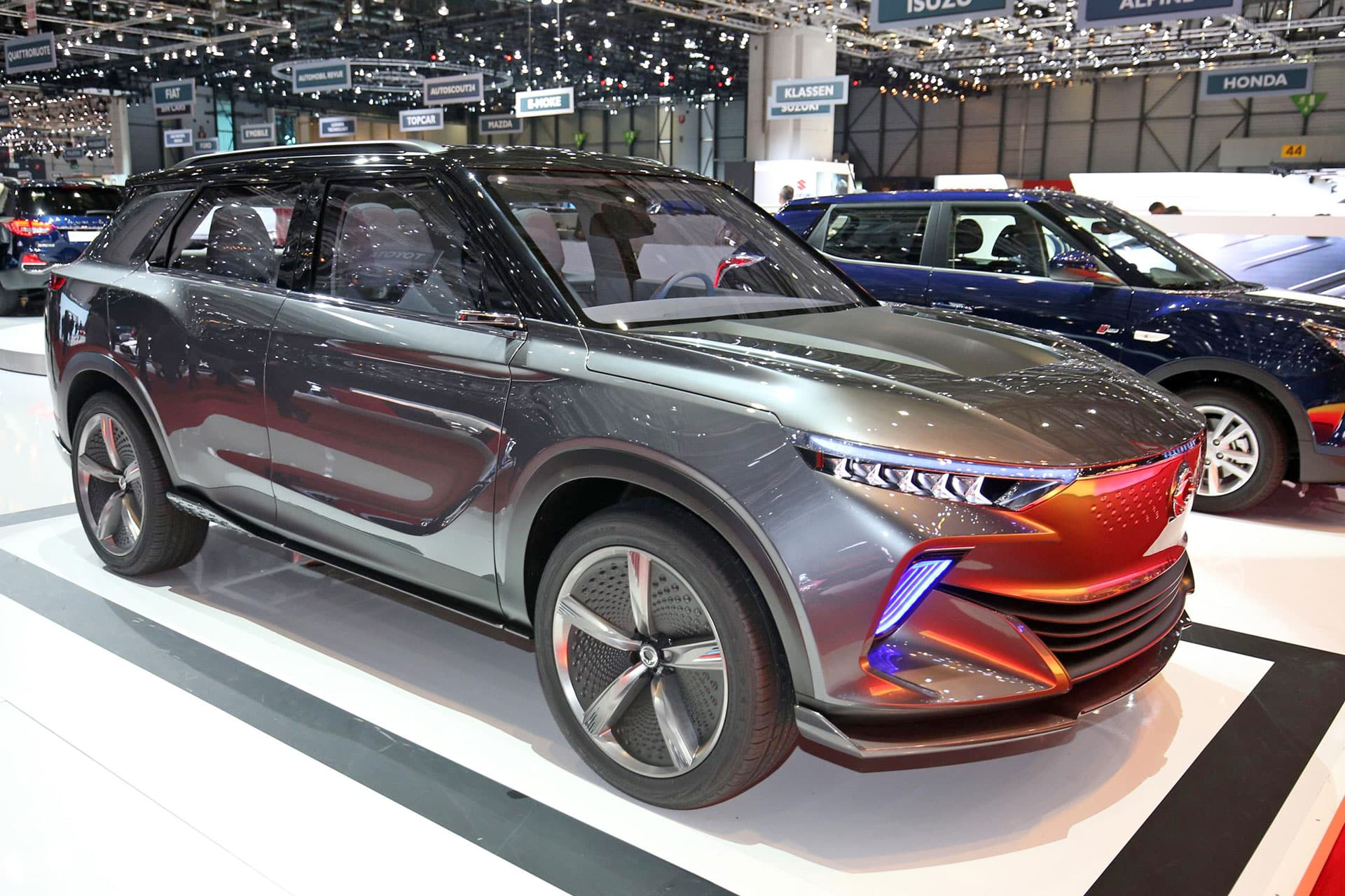 SsangYong SI-EV The Car Expert Geneva