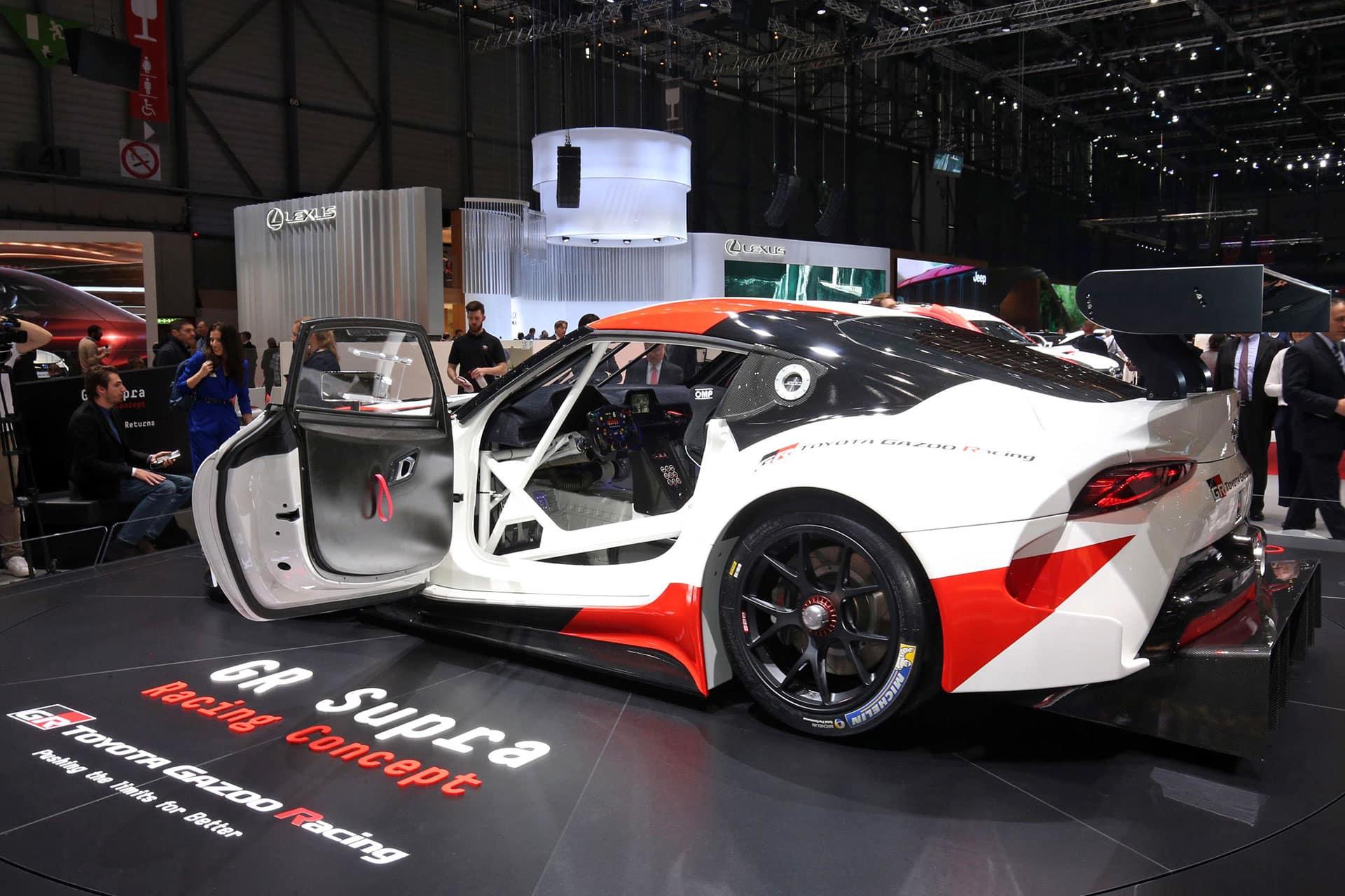 Toyota Supra Concept The Car Expert Geneva