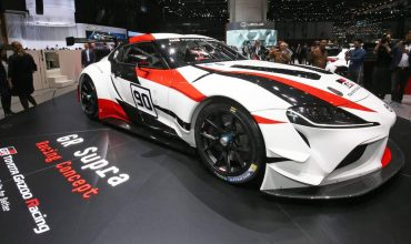 Geneva: Toyota Supra races in