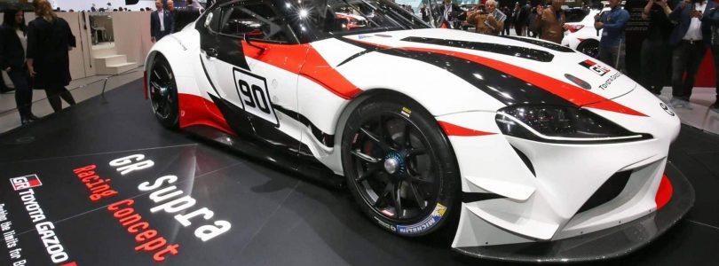 Geneva: Toyota Supra races in