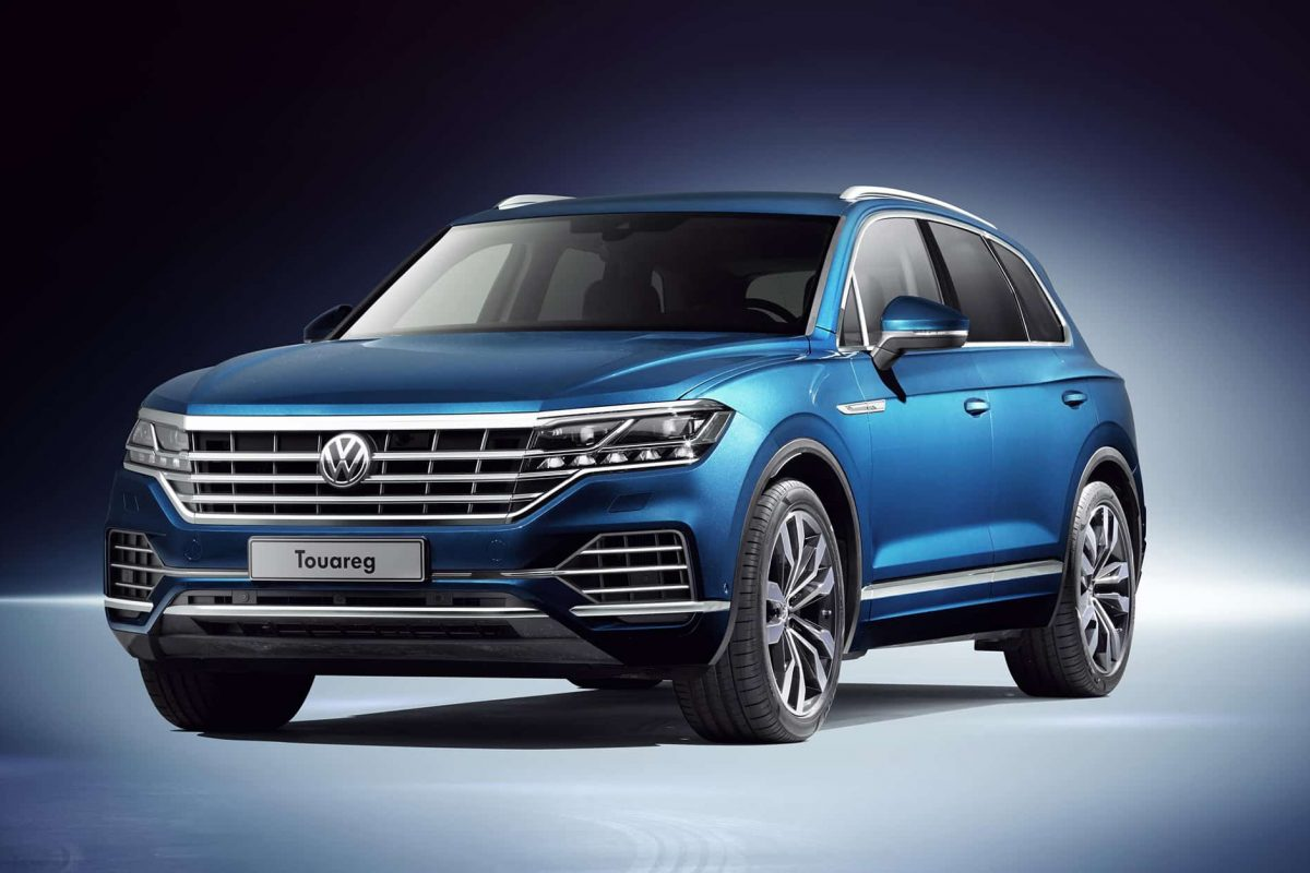 New Volkswagen Touareg revealed in China