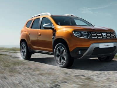 All-New Dacia Duster EMBARGOED 10h10 UK 120917 (8)