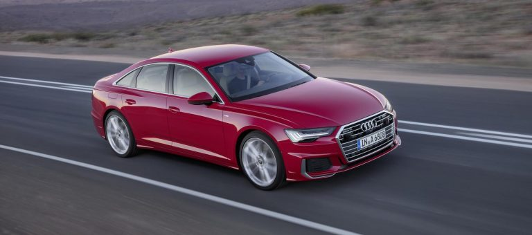Audi A6 back in business
