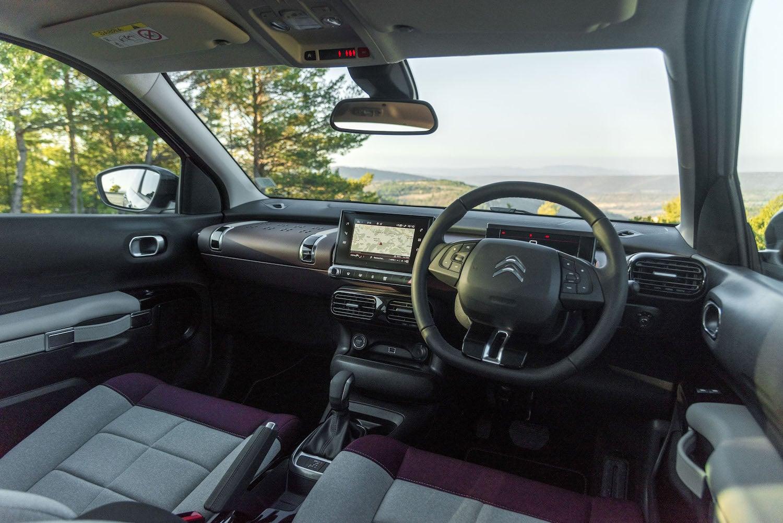 2018 Citroen C4 Cactus interior