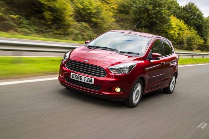 Ford Ka is tops for minimal depreciation