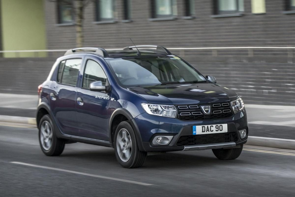 Dacia Sandero Stepway is good for depreciation