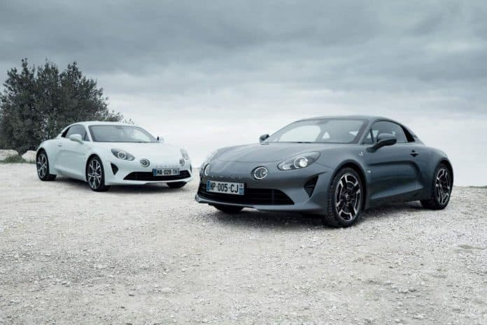 Two new versions of the Alpine A110
