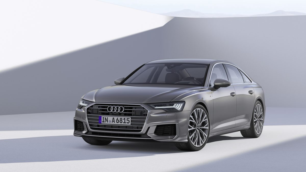 Audi A6 saloon, March 2018