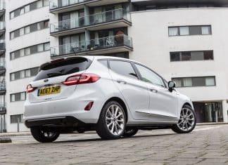 Ford Fiesta Vignale rear February 2018