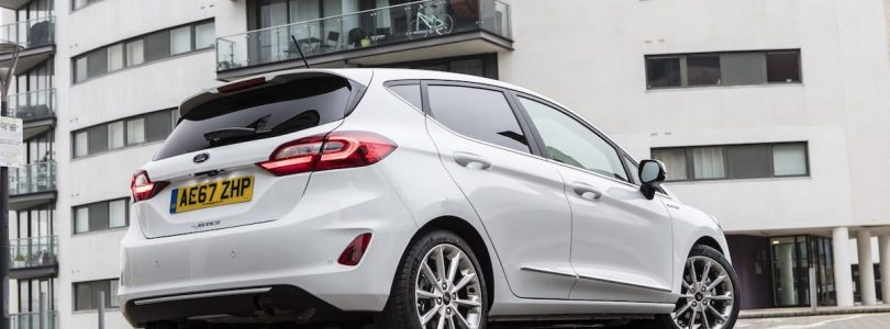 Ford Fiesta Vignale rear February 2018