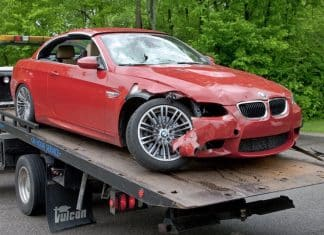 car insurance write-off