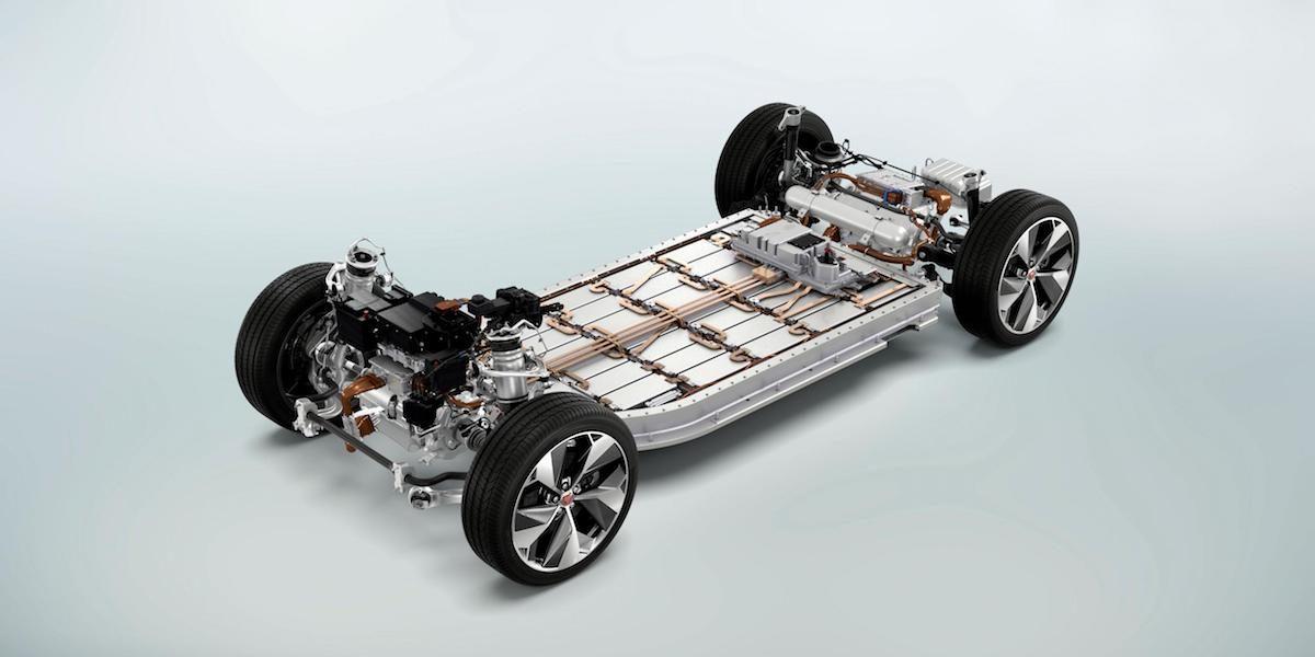 Jaguar i-Pace electric motors