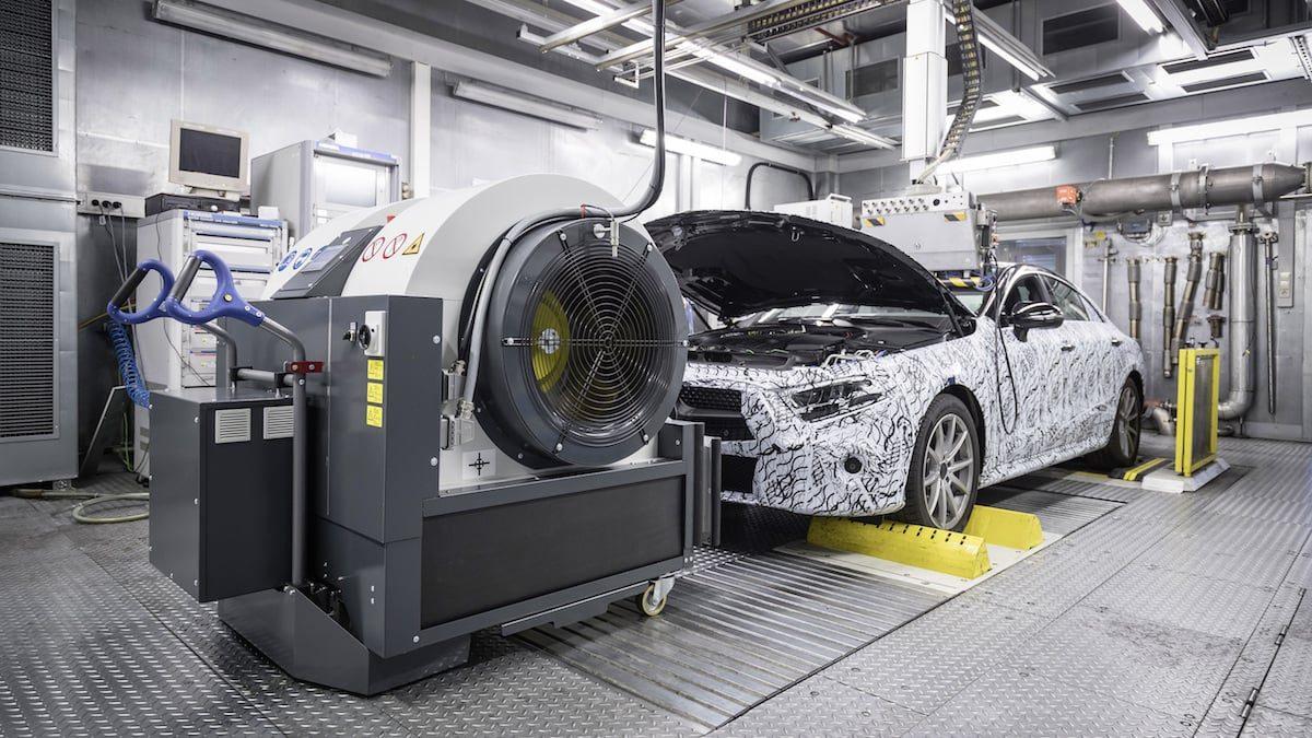Mercedes-Benz WLTP lab test