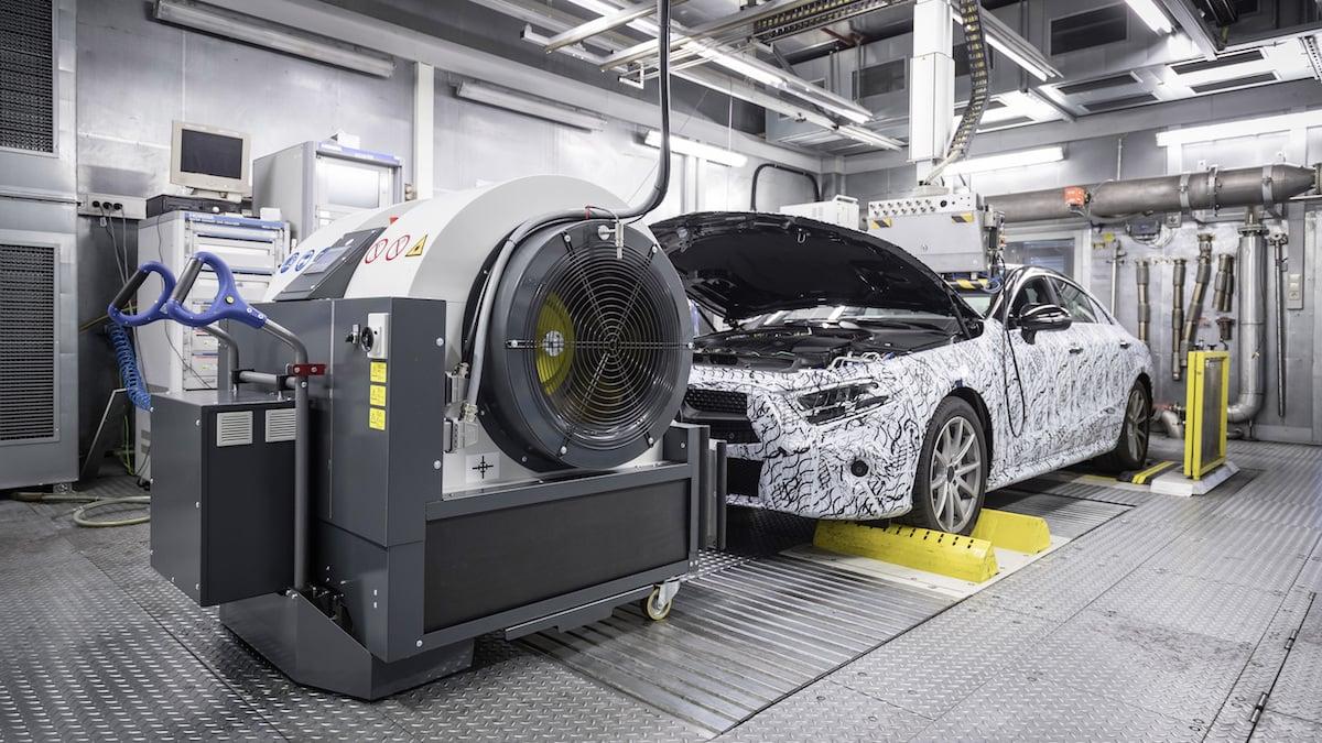 Mercedes Benz Wltp Lab Test The Car Expert