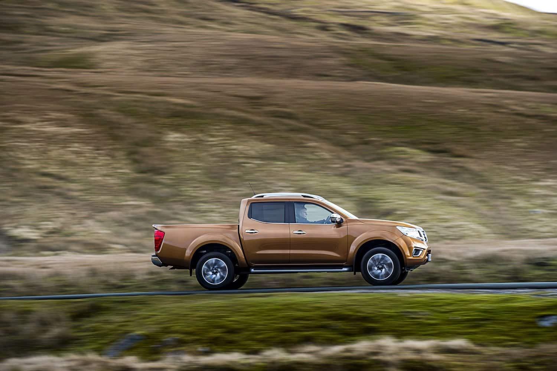 Nissan Navara on the road (The Car Expert)