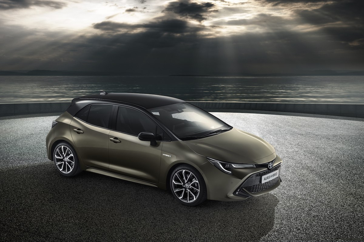 Toyota Auris hybrid launched