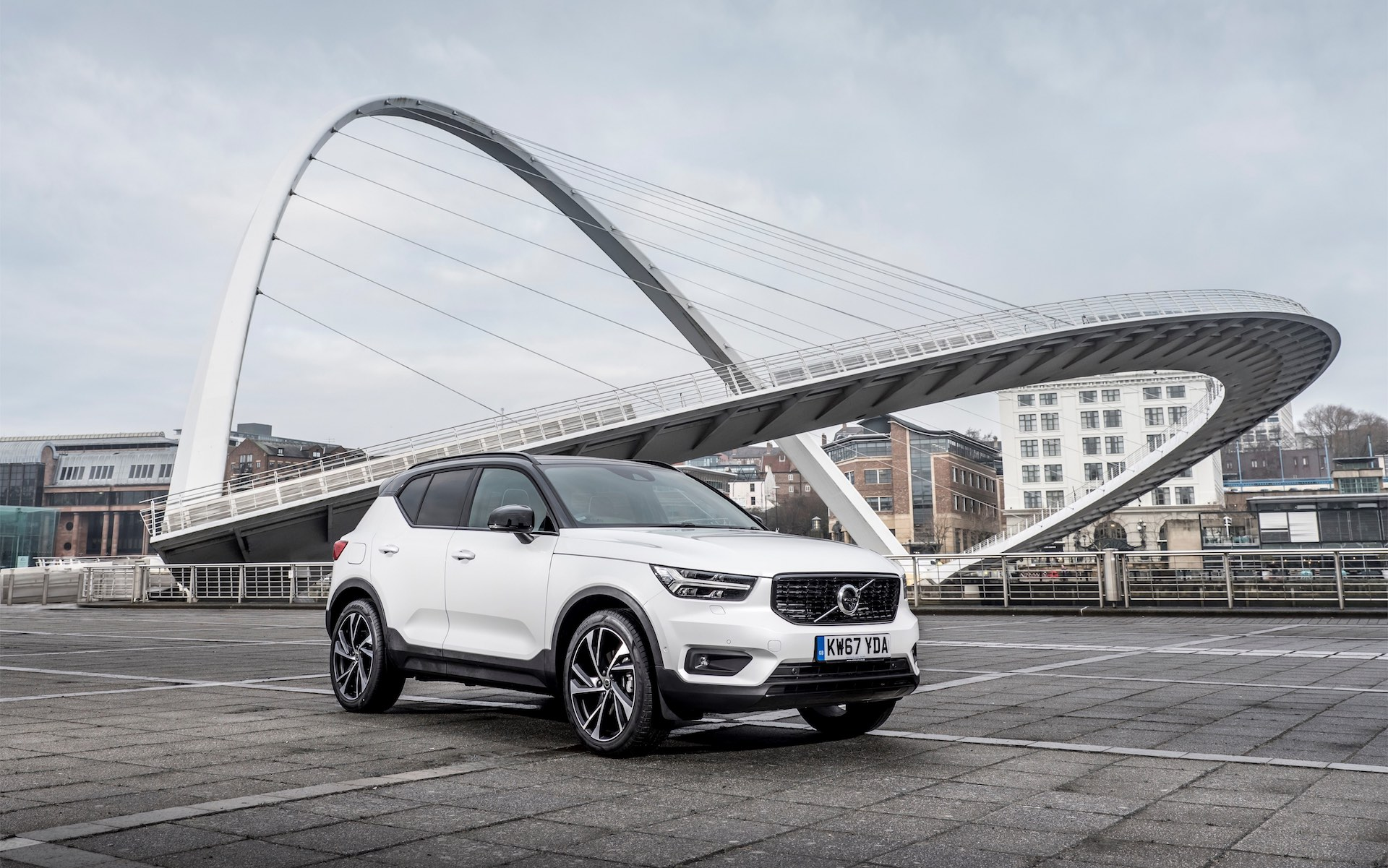 Volvo XC40 exterior (The Car Expert)