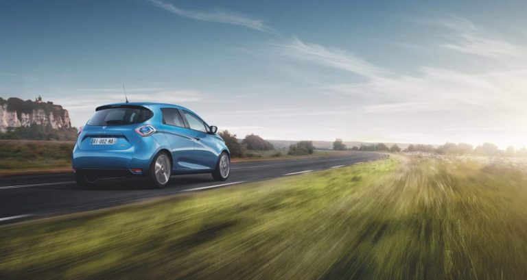 Updated Renault Zoe with updated finance offers