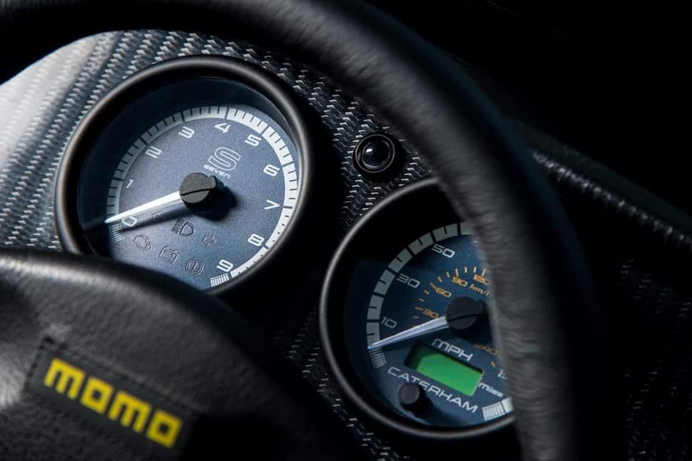 2018 Caterham 620S review - gauges