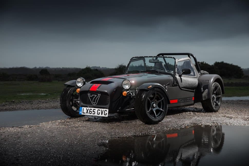 Caterham 620S review - front