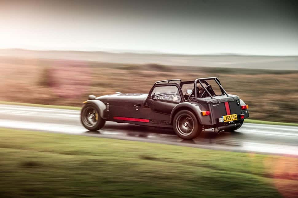 Caterham 620S on road - side