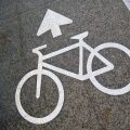 cycle lane marking
